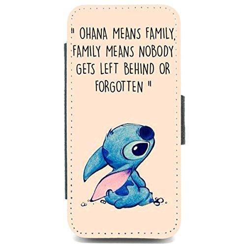 iPhone 5/5S per custodia famiglia di stich ohana significa Lilo citazione