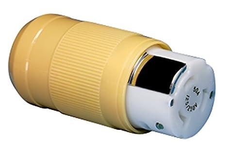 Marinco - 6364Crn Marine-3-4-Draht-Pole Elektrischer Anschluß (50-Amp, 125/250-Volt, Weiblich)