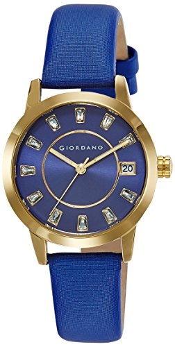 Giordano Analog Blue Dial Women's Watch - A2026-02 image