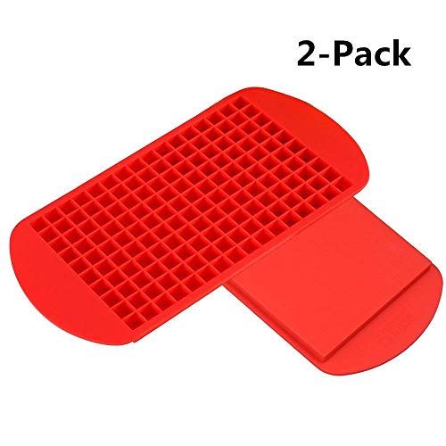 KABB 0006-00 Ice Cube Trays, Red