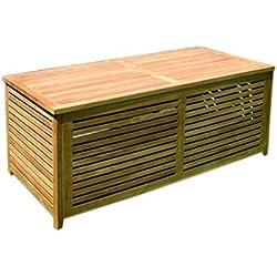 Jardín Caja grande de madera abierto separados) 145x 70x 65cm