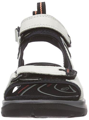 Ecco Offroad Damen Sport- & Outdoor Sandalen Weiß (SHADOWWHITE 2152)