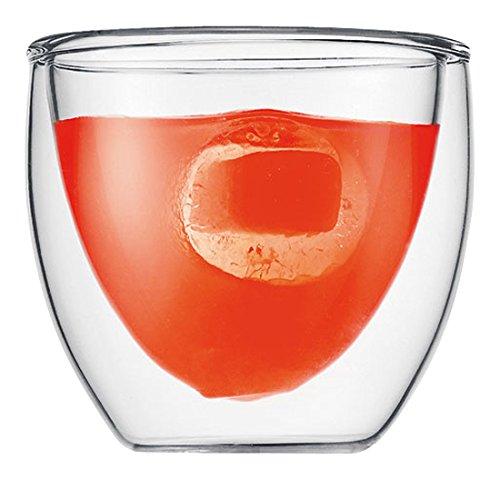 Bodum - 4557-10 - pavina - set de 2 verres - 8 cl