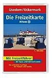 Die Allianz Freizeitkarte Usedom, Neubrandenburg, Uckermark 1:100 000 -
