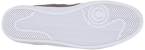 Fred Perry Umpire Suède B6273119, Baskets Mode Homme Grey