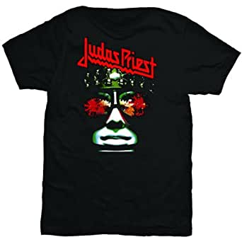 Judas Priest T Shirt Hell Bent Album Cover Band Logo Official Mens New Black, XX-Large (Brand size: S)