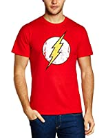 FLASH - BLITZ - Justice League - Superhelden - T-Shirt Rot S M L XL XXL XXXL