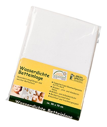 grunspecht-163-00-wasserdichte-betteinlage-50-x-70-cm-weiss