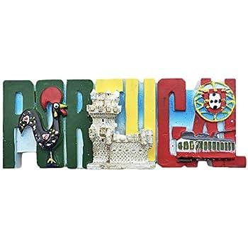 Collection Cadeau Cuisine MUYU Magnet Aimant de r/éfrig/érateur 3D Coq du Portugal Souvenir d/écoration de Maison