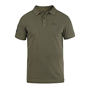 46be6f979630 BLEND Dave Herren Poloshirt Kurzarm Shirt mit Polokragen aus 100% Baumwolle