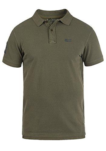 (BLEND 703096ME Dave Poloshirt, Größe:XXL;Farbe:Dusty Green (70595))