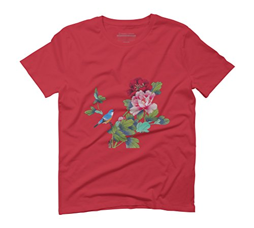 Fantasy of Love Men's Graphic T-Shirt - Design By Humans Red