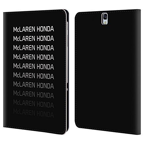Officiel McLaren Honda Essentials Logo Repeat Art Clé Étui Coque De Livre En Cuir Pour Samsung Galaxy Tab S3 9.7