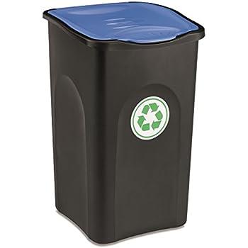 Großer Mülleimer mit Deckel 50 Liter Fassungsvermögen in
