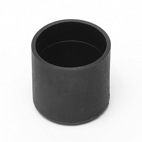 Manyo 4 Stücke Kunststoff fußkappen, Rund, 6 Größen zu wählen, Rutschfest und Wasserdicht, 9 Größen zur Auswahl, Ideal für Stuhl, Schreibtisch, Sofa und andere Möbel. (35I) (22mm)