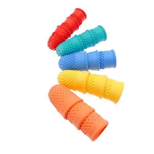 thimblettes-thimblette-rubber-thimble-size-00-red-qty-6-kf21507-sizing-14mm