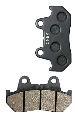 Front Disc Brake Pads Semi Met fit Street Bike CN250 CN 250 Helix Fusion MF02-92 & up 1992 & up 1 Pair (2 Pads)