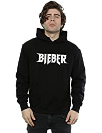 Justin Bieber Men's Simple Logo Hoodie