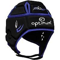 OPTIMUM Protector para la Cabeza Tribal Senior-Negro/Azul, X-Large, Unisex-Adult, x L