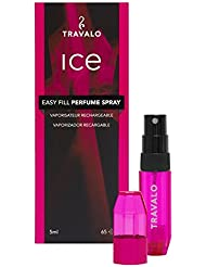 Travalo Ice Perfume Atomiser, 5 ml, Hot Pink - ukpricecomparsion.eu