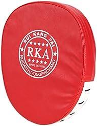 L'accentdePad-All4you1PCboxePunchBagmitainesMuayThaiUfcMmaMesdamesKickboxingWomensSparringEqipmentsGymFitness(Red)