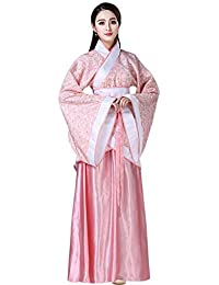 KINDOYO Donna Prestazioni di Costumi Stile Cinese Antico Abiti Stampa Retro  Tradizionale Nazionale Tuta Tang Hanfu d2634010e73