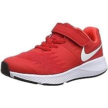 8d07a62710 Amazon.es  zapatillas niña running nike - Rojo
