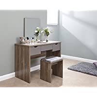 40396ec71680 Amazon.co.uk: Grey - Dressing Tables / Bedroom Furniture: Home & Kitchen