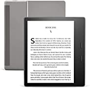 "All-New Kindle Oasis (10th Gen), Now with adjustable warm light, 7"" Display, Waterproof, 8 GB, Wi-Fi, Gra"