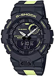 Casio G-Shock G-Squad GBA-800LU-1A1DR Analog Quartz Black Resin Men's W