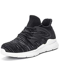 Gainsera Zapatos de Seguridad Zapatos de Trabajo Zapatos con Punta de Acero Ligero y Transpirable Hombres Mujeres Deportes Unisex Zapatos de Verano, 912 Grey 38