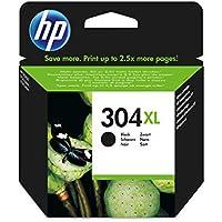 HP 304XL Cartouche d'Encre Noire Authentique (N9K07AE) pour HP DeskJet 2620/2630/3720/3730