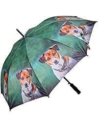 Folding Umbrella I Spy Spaniel Design Quality Brolly by Country Matters New