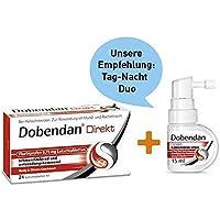 Sparset Dobendan Direkt Flurbiprofen 8,75 mg 24 Lutschtabl. + Dobendan Direkt Flurbiprofen Halsspray 15 ml preisvergleich bei billige-tabletten.eu