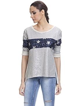 Tantra 3028, Blusa para Mujer, Gris, One Size (Tamaño del Fabricante:TU)