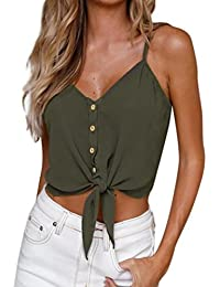 f22f133293 Amazon.es  tops mujer - Ropa deportiva   Mujer  Ropa
