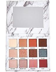 Bulary Palette Maquillage Yeux 12 Teintes Fard à Paupière Paillete