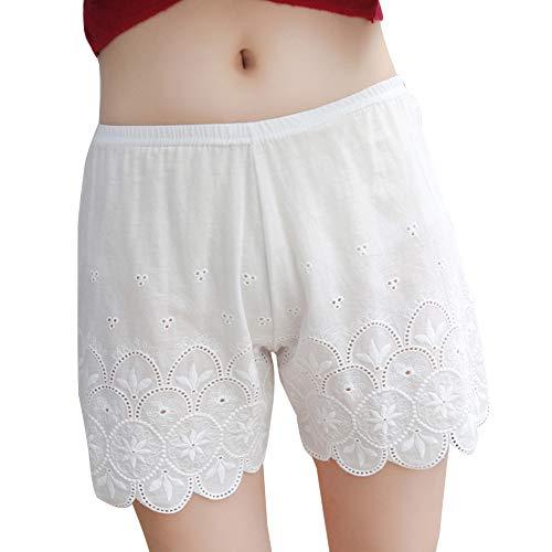 Quge Mujeres Leggings Cortos Debajo De Los Pantalones