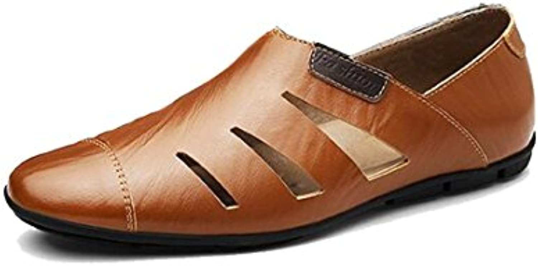 Minotta MinottaUKHQ8007 - Zapatos Planos con Cordones de Sintético Hombre