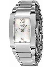 Tissot GENEROSI-T T0073091111300 - Reloj de mujer de cuarzo, correa de acero inoxidable color gris