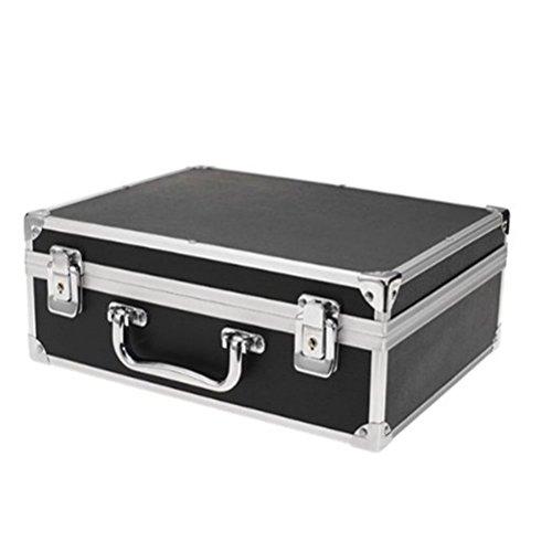 Tattoo-transport-box (LEORX Professionelles Tattoo Kit bei Lock (schwarz))