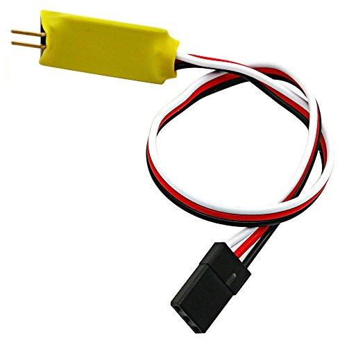 ZuoLan 1 Stück 5V/1A Single Kanal RC Auto Licht Steuerschalter System für 1/10 RC Auto -