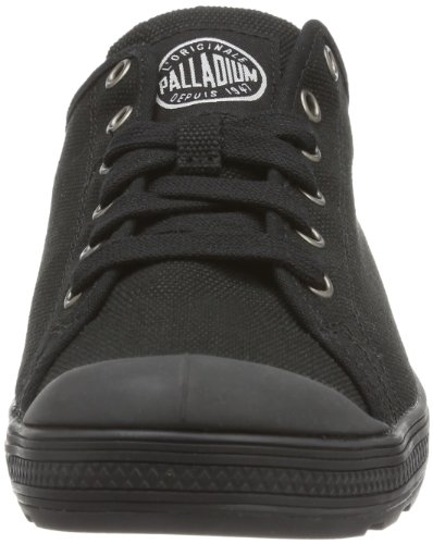 Palladium Lr Originale~black~m, Décontractées (casual) mixte adulte Noir - Schwarz (LR ORIGINALE~BLACK~M)