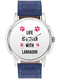 Wrist Watch For Men - Life Is Better With Labrador | Best Gift For Labrador Dog Lovers - Analog Men's And Boy's...