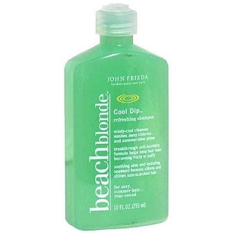 John Frieda beach blonde Cool Dip Refreshing Shampoo , 10 fl oz (295 ml) by Beach Blonde