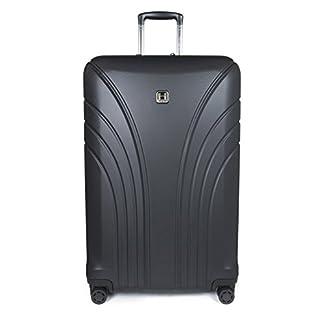 Hedgren HFO05LWEX / 779-01 Fórmula Uno maleta, 76 cm, 126 litros, Negro / Rojo combinado