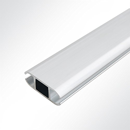 Aluminium Verbundprofil Kederschiene Doppelkederschiene 17 x 44 mm Länge 1 Meter