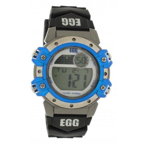 Ei-4043901DDP Kinder-Armbanduhr Analog Quarz Kunstharz Gurt schwarz Zifferblatt