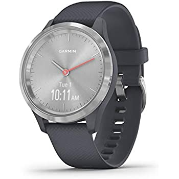Garmin Vívomove 3S Sport - Reloj inteligente, color plata y grafito