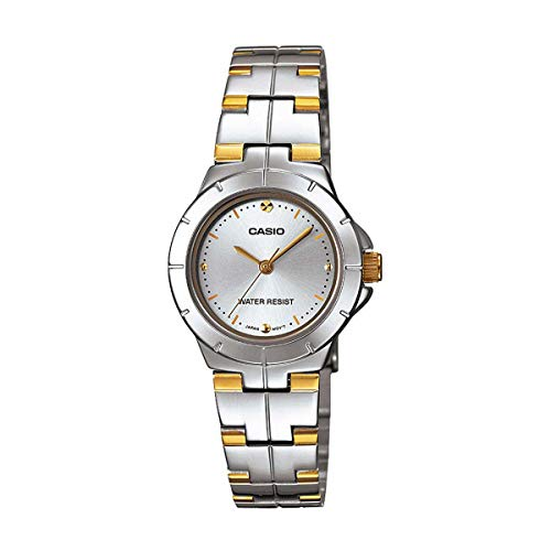 Casio Enticer Analog Silver Dial Women's Watch - LTP-1242SG-7CDF (A907)